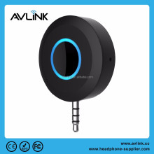 Universal 3.5mm Streaming Car A2DP bluetooth audio receiver with Mic For Phone and APTX-Low Latency