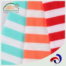 Professional textile materials 5%spandex 95%cotton slub polo t shirt fabric