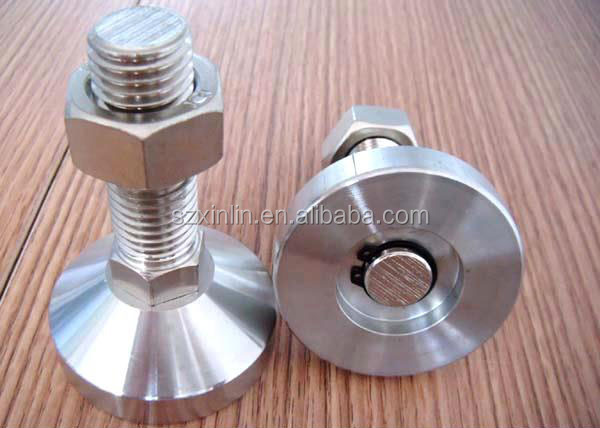 Stainless steel Leveling Foot Threaded Glide Feet Leveling feet