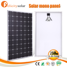 72 Cells cheap mono crystalline solar panel module solar panels 250 watt for Guinea-Bissau