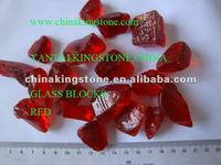 Decorative countertop glass chips