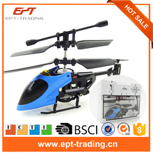 3.5CH RC flying toy gyro Radio Control Metal alloy fuselage R/C Helicopter Mini Co-Axial copter toy VS S107