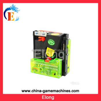Game machine electric coin selector coin acceptor,vending machine coin acceptor