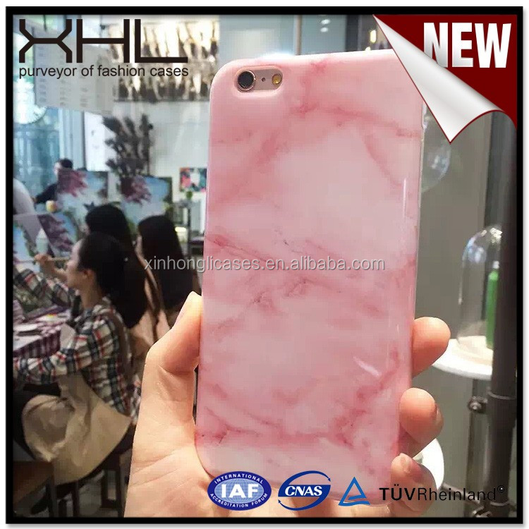 High demand import product IMD painted marble cellphone case