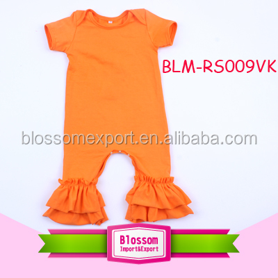Wholesale Kids clothes newborn long pants baby romper organic cotton baby wear soft baby romper