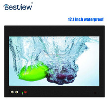 "Shenzhen 12.1"" inch waterproof wire touch screen monitor ip67"