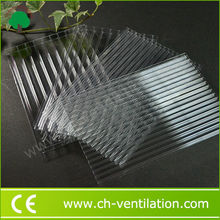 Factory Supply light weight easy installation greenhouse polycarbonate