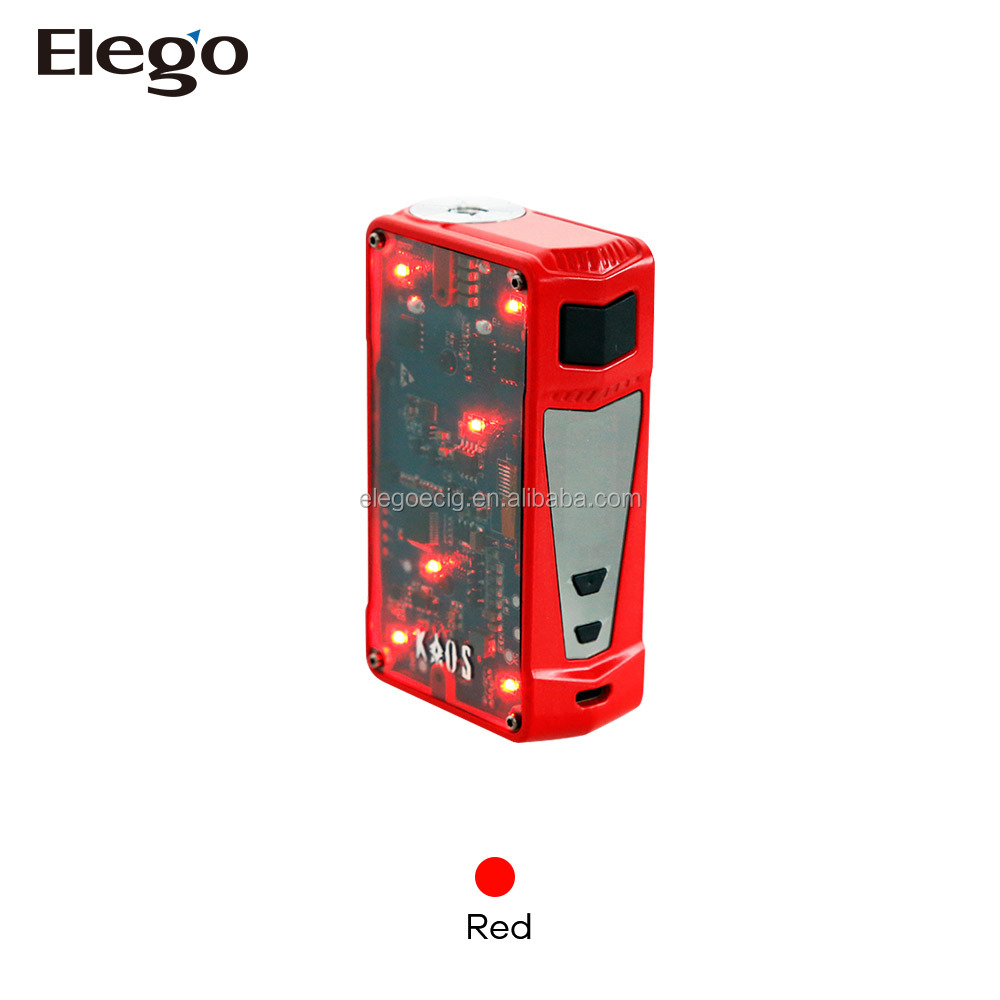 2017 New Coming Simple and Scientific Side Panels Sigelei Kaos Z 200W Box Mod with lowest price