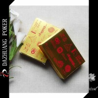 CUSTOMIZED GOLD FOIL PAPER PLAYING CARDS