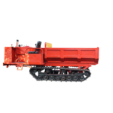 Factory price mini dump truck with track with diesel engine
