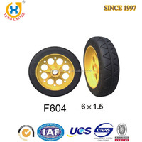 High quality High Performance 7 inch rubber wheel