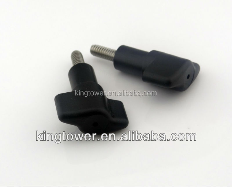 High Quality Plastic Head adjustment m8 custom Screws