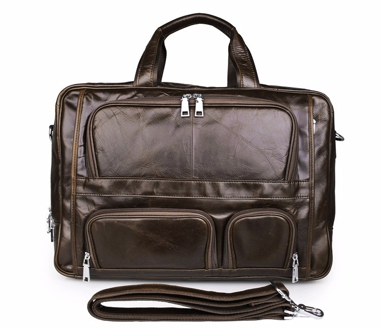 Leather Executive Man Handmade Genuine Leather Bags Briefcases for lawyers
