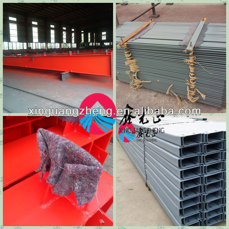 prefab steel sheds for sale for workshop/warehouse/building