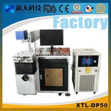China new automatic diode laser marking machine for plastic seal