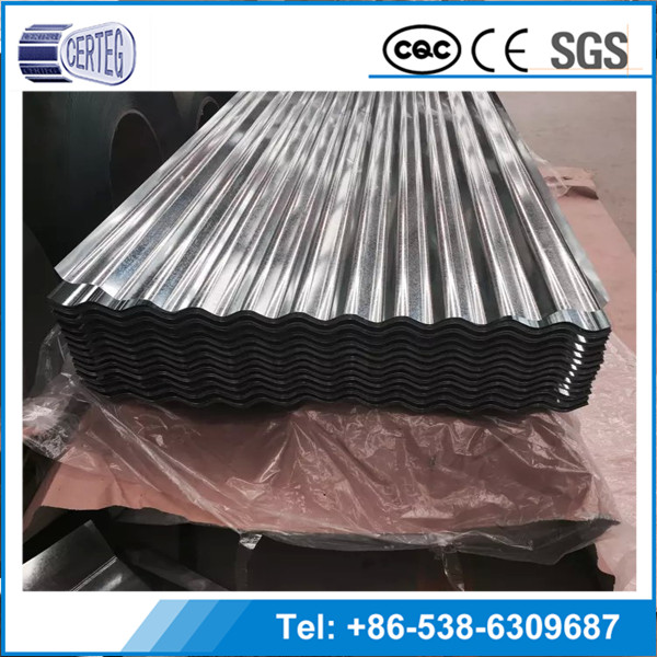 Galvanized corrugated steel roofing sheet best factory products