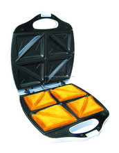 ETL big size cookie maker in 4 slice sandwich maker