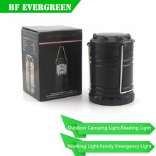 Outdoor LED Camping Lantern Waterproof Tent Light 30 LED Camping Tent Power Supply With 3*AA Dry Battery