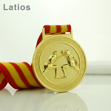 New product academic 3d hollow custom made souvenir medal
