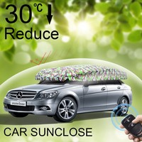 SUNCLOSE all type of best car sun shade for kids manful disposable car body cover