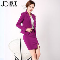 Elegant ladies formal office skirt wear women business suits skirt suits for office ladies