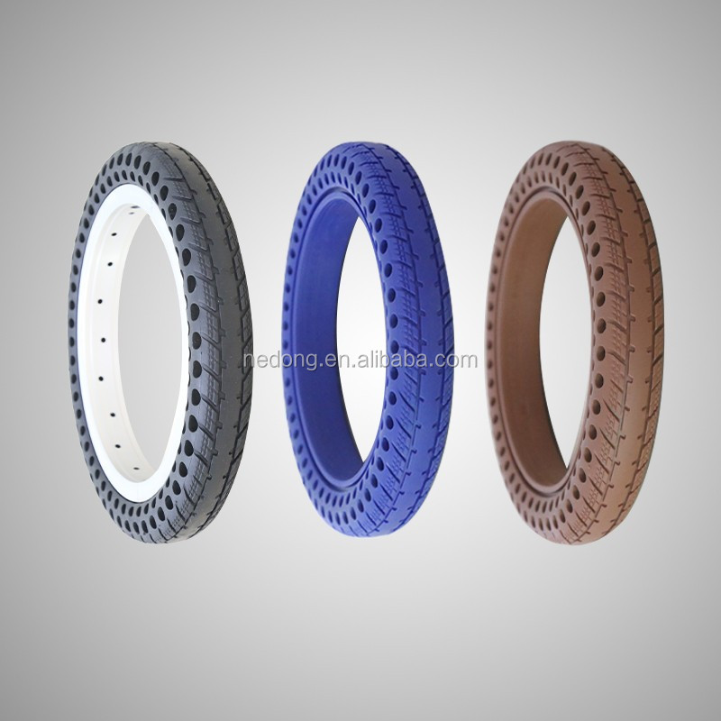 New Style of Bike Tyre 12x1.5 Tubeless Hollow Tire for Bicycle Colorful Tire