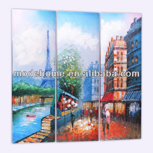 Cheap Night Abstract Canvas Handmade Oil Painting