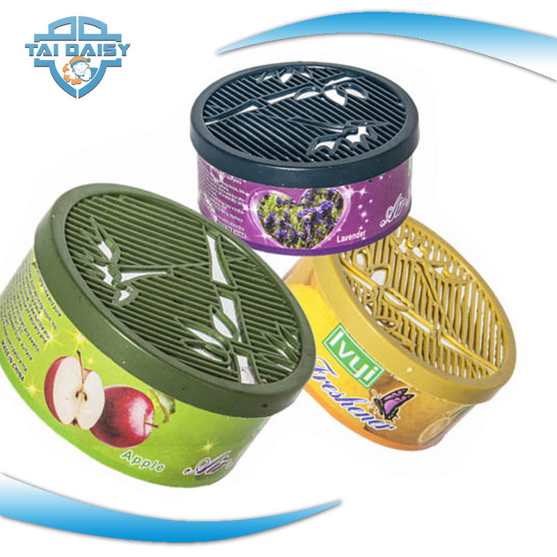 Car aromatic flavor gel air freshener