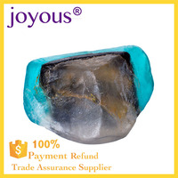 private label gifts boutique hotel OEM handmade Clearly Natural Rainforest Glycerin Bar Soap attractive transparent style Stock