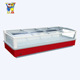 China Little Duck Supermarket Curved Glass Door Chest Freezer E7 HAWAII with CE certification