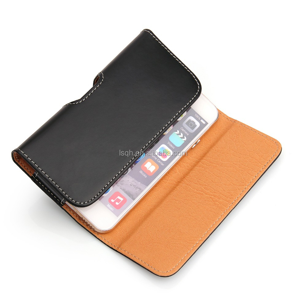 Filp PU Leather Skin pocket for S4