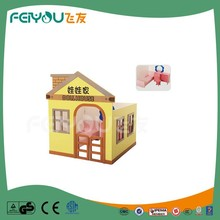 Doll House Shape Children Furniture Sets Game New Style High Quality Cheap Wooden Playhouse For Kids From China Manufacture