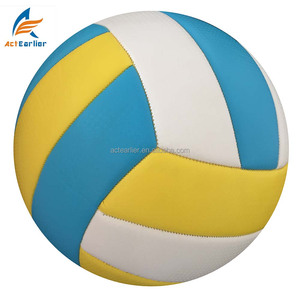 cheap high quality custom design logo standard size weight volleyball ball