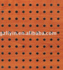 wooden perforated acoustic fireproof board sound reflective materials