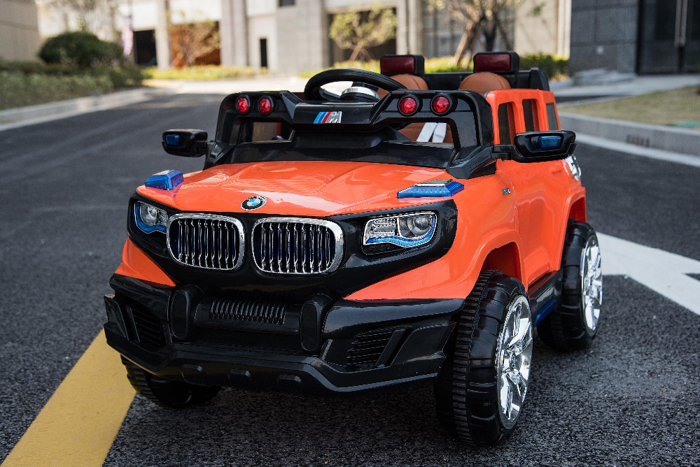 best selling two motor and two seat electric ride on jeep car for kids