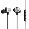 Magnetic RQ1 Noise cancelling bluetooth headphone headset workout earbuds Magnetic earbuds in ear