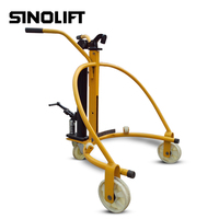 Sinolift COY series high quality portable 55 gallon drum trolley for all oil drum handling