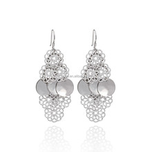 2015 New Fancy Drop Earring 925 sterling Silver Fine Jewelry Wholesale - ES00852