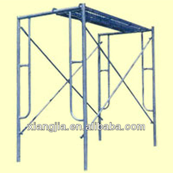 construction working platform narrow scaffolding frame