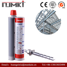 NJMKT track bolt (Conical) Specified Adhesive Anchor/chemical anchor for reinforcemnet building