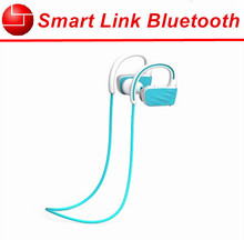 Water proof mp3 4g flash bluetooth headphone earhook deep bass wireless earbuds