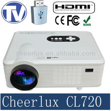 top rank led 1280*800 projector with native 16:9 aspect ratio support 1080p 3d movies