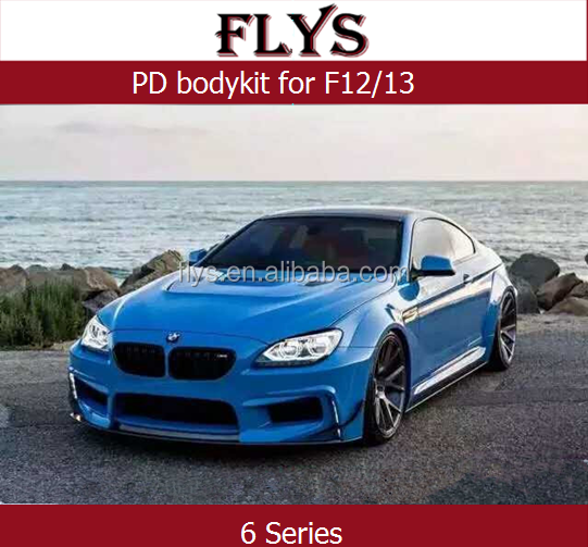 PD body Kit for 2011-2015 F12 F13 630i/640i/650i bodykit Auto tuning