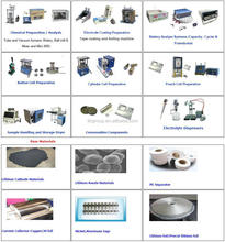 lithium ion battery one stop service including full sets of materials ,equipments and technology
