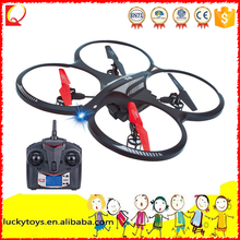 2.4GMHZ go pro aircraft R/C model plane with 6axis GYRO and light rc flying quadcopter toys ufo rc drone for kids