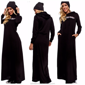 1207-MK4 Latest Design Europe style Cashmere maxi dress for ladies women wholesale