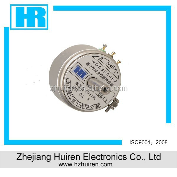 16mm carbon potentiometer with insulated shaft WDD35D4B2
