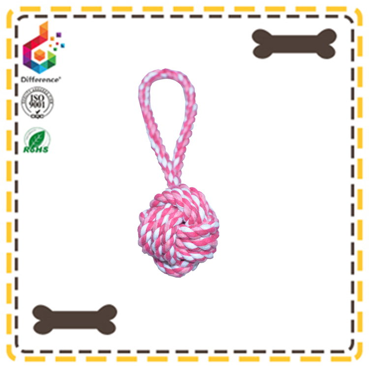 handmade cotton dog rope toy