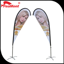 Feamont Flexible Height Aluminum Flag Sticks for Beach Flag Banners