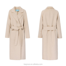 clothes 2017 ladies fashion 100% wool classic winter women long coat